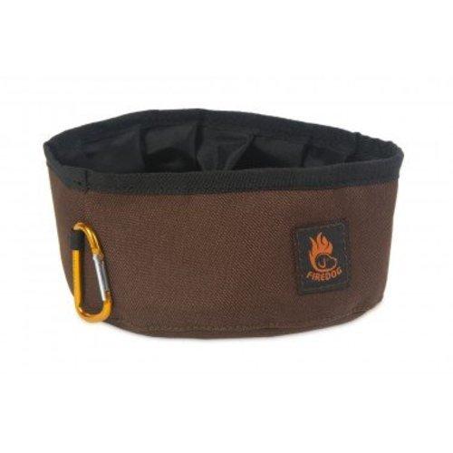 Firedog Firedog Click 'n Go Travel Bowl 1L. Solid Kleuren