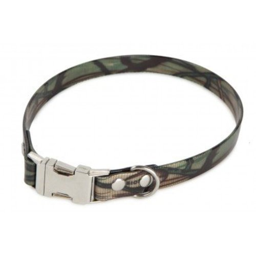 Firedog Firedog BioThane Collar Clip Camo 19 mm - 47-50 cm