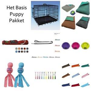 PJH Het Basis Puppy Pakket met 91x57x64 cm Bench
