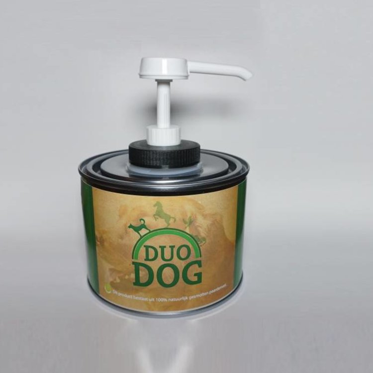 Duo Dog Duo Protection Dog Paardenvet Supplement - 0.5 Liter
