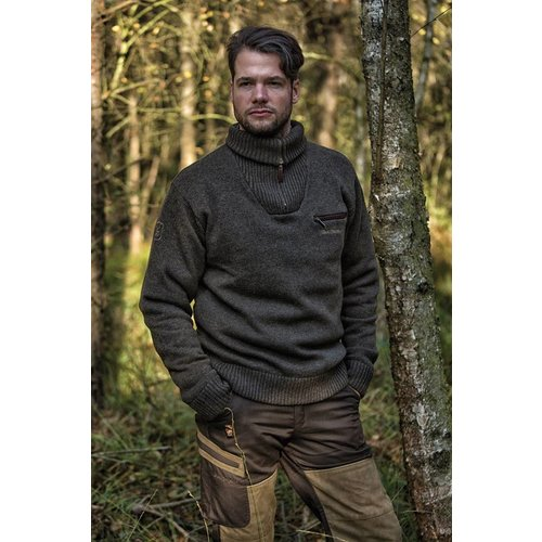 Deerhunter Deerhunter Kendal Knit Zip-neck
