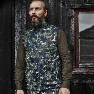 Northern Hunting Northern Hunting Haki Fleece vest