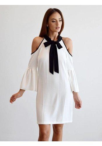 Love Shop Pray Cut out shoulder  dress