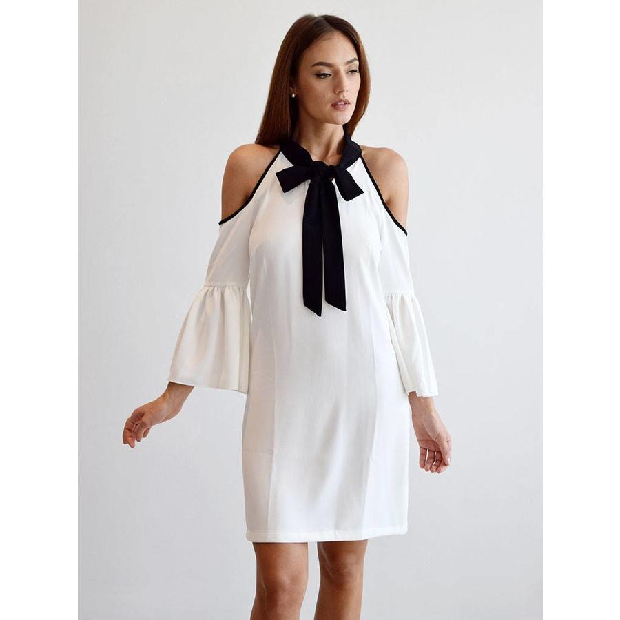 Cut out shoulder  dress