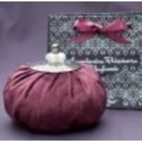 Maroon perfume velvet