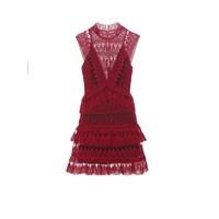 Teardrop lace dress