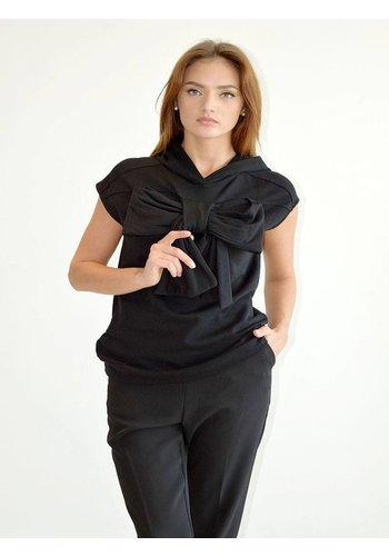 Souvenir Clubbing Bow sleeveless hoodie