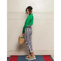 Vertical striped trouser