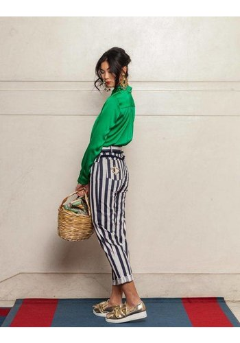 Que Guapa Vertical stripe trouser
