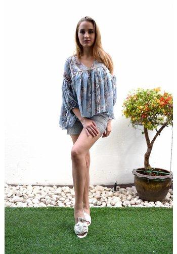 Love Shop Pray Lace shorts