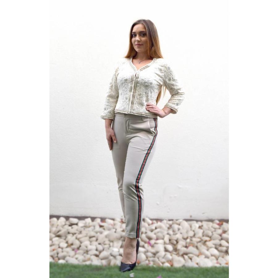 Plain trouser