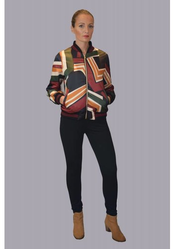 Motel By Kosmika Printed jacket