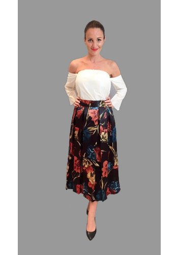 Motel By Kosmika Floral printed skirt