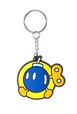 BIOWORLD Nintendo porte-cles caoutchouc Bob-omb 6 cm