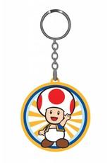 BIOWORLD Nintendo porte-cles caoutchouc Red Mushroom 6 cm