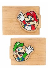 BIOWORLD Nintendo porte-monnaie Woodgrain Snap