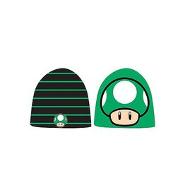 BIOWORLD Super Mario Bros. bonnet Mushroom Reversible
