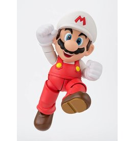 TAMASHI NATIONS Super Mario Bros. figurine S.H. Figuarts Fire Mario Tamashii Web Exclusive 10 cm