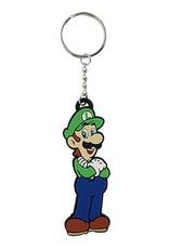 BIOWORLD Super Mario Bros. porte-cles caoutchouc Luigi 8 cm