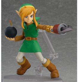 GOOD SMILE COMPANY The Legend of Zelda A Link Between Worlds figurine Figma Link DX Edition 11 cm