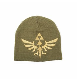 BIOWORLD The Legend of Zelda bonnet Woven Golden Logo