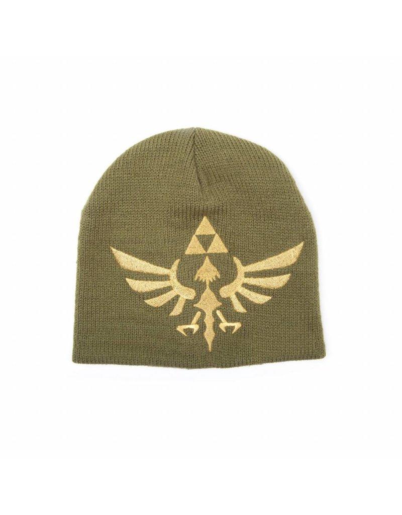 BIOWORLD The Legend of Zelda bonnet Woven Golden Logo