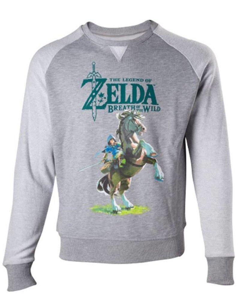 BIOWORLD The Legend of Zelda Breath of the Wild Sweater Link on Epona