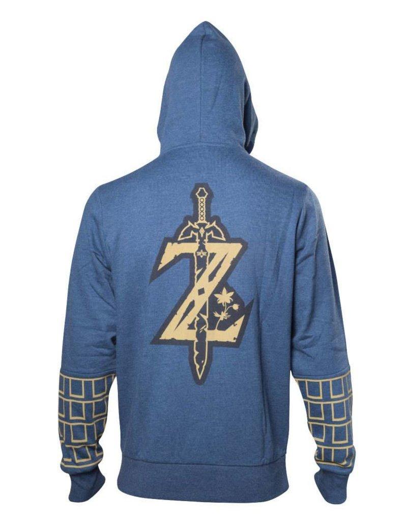BIOWORLD The Legend of Zelda Breath of the Wild sweater à capuche Logo