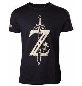 BIOWORLD The Legend of Zelda Breath of the Wild T-Shirt Homme Z Sword