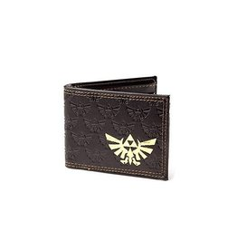 BIOWORLD The Legend of Zelda porte-monnaie Gold Foil Logo