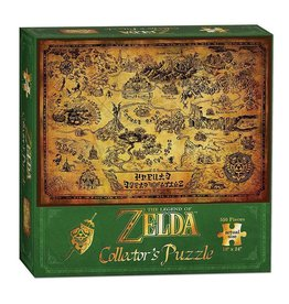 USAOPOLY Legend of Zelda Puzzle Hyrule Map