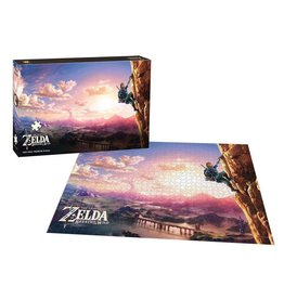 USAOPOLY Legend of Zelda Breath of the Wild Puzzle Scaling Hyrule