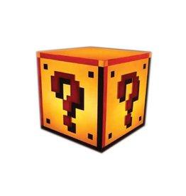 PALADONE Super Mario Bros. lampe Question Block 18 cm
