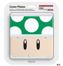 NINTENDO Coque pour console New Nintendo 3DS n°8 - Toad vert