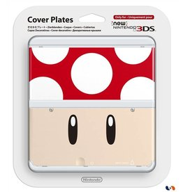 NINTENDO Coque pour console New Nintendo 3DS n°7 - Toad rouge