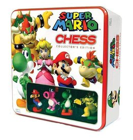 USAOPOLY Super Mario jeu d´échecs Tin Box