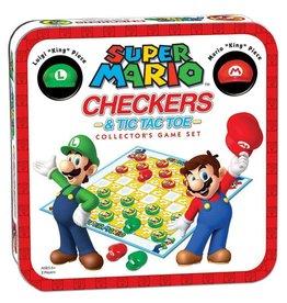 USAOPOLY Super Mario jeu de dames Collector's Game