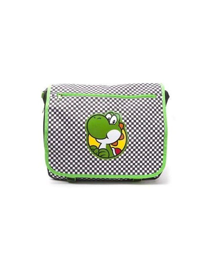BIOWORLD Nintendo - Sac Bandouliere - Yoshi Checkered