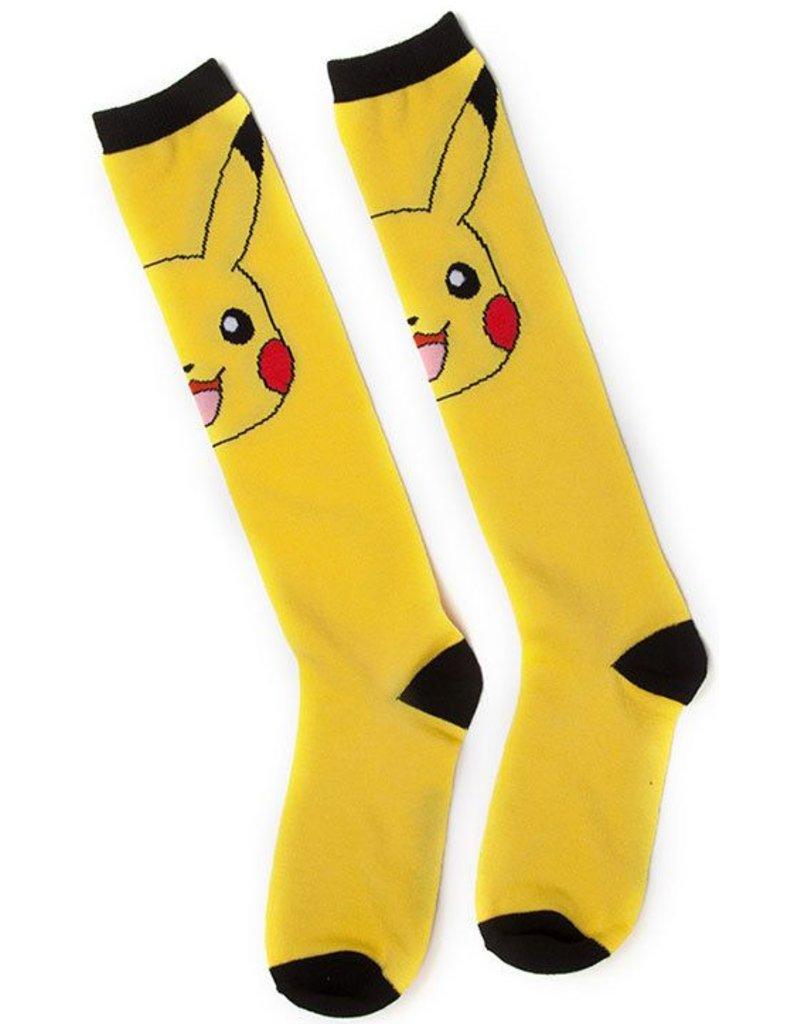 BIOWORLD Pokemon - Chaussettes Genoux - Pikachu