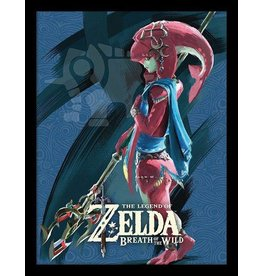 PYRAMID Legend of Zelda Breath of the Wild affiche encadrée Prodige Mipha 45 x 33 cm
