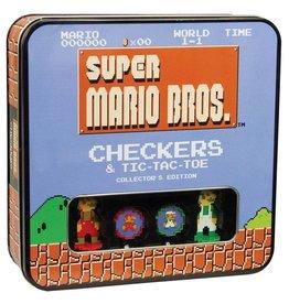 USAOPOLY Super Mario Bros. jeu de dames Collector's Edition