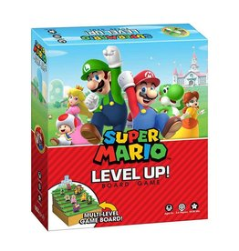 USAOPOLY Super Mario jeu de plateau Level Up