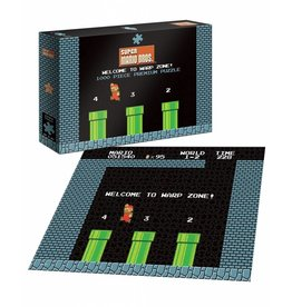 USAOPOLY Super Mario Puzzle Welcome to Warp Zone