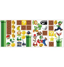 Nintendo Décoration vinyle repositionnable géante Super Mario Bros.
