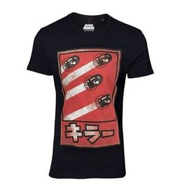 BIOWORLD Super Mario T-Shirt Propaganda Poster Inspired Bullets