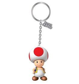 Nintendo porte-clés PVC 3D Toad 7 cm