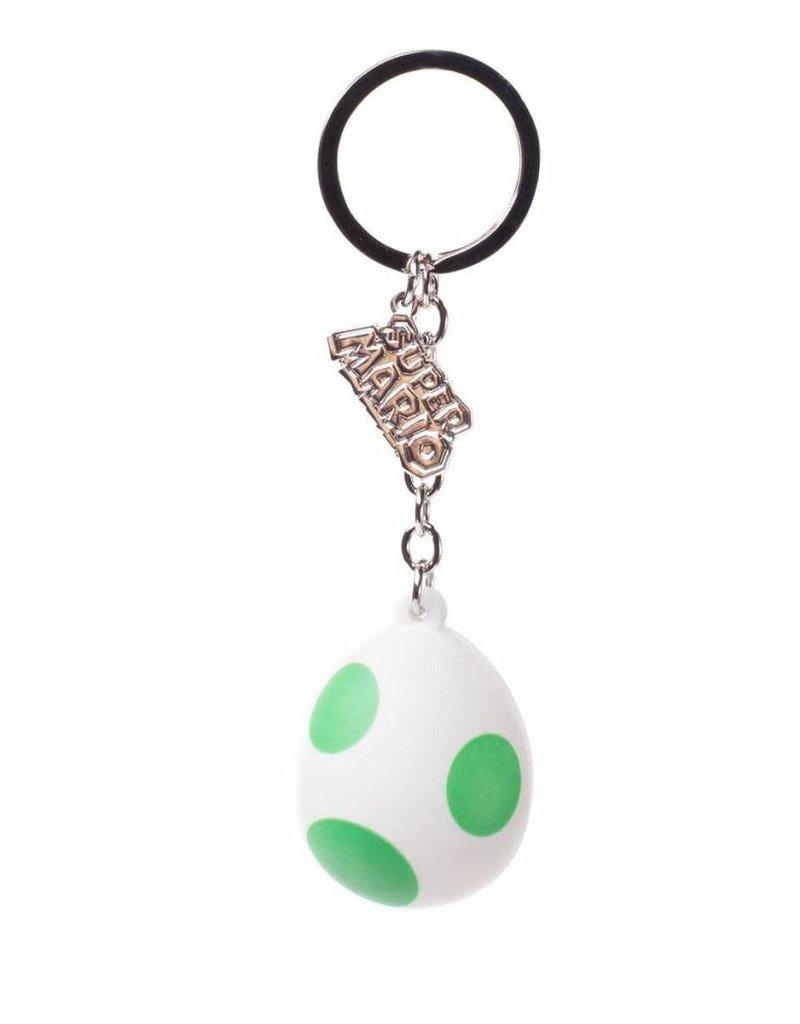 BIOWORLD Nintendo porte-clés caoutchouc Yoshi's Egg 7 cm