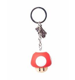Nintendo porte-clés caoutchouc Mushroom 7 cm