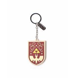 The Legend of Zelda porte-clés caoutchouc Hero's Shield 7 cm