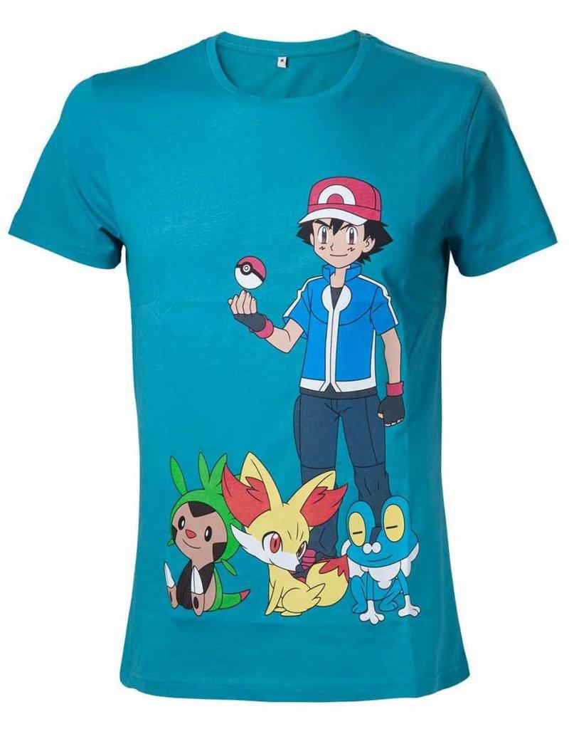 BIOWORLD Pokemon T-Shirt Ash Ketchum